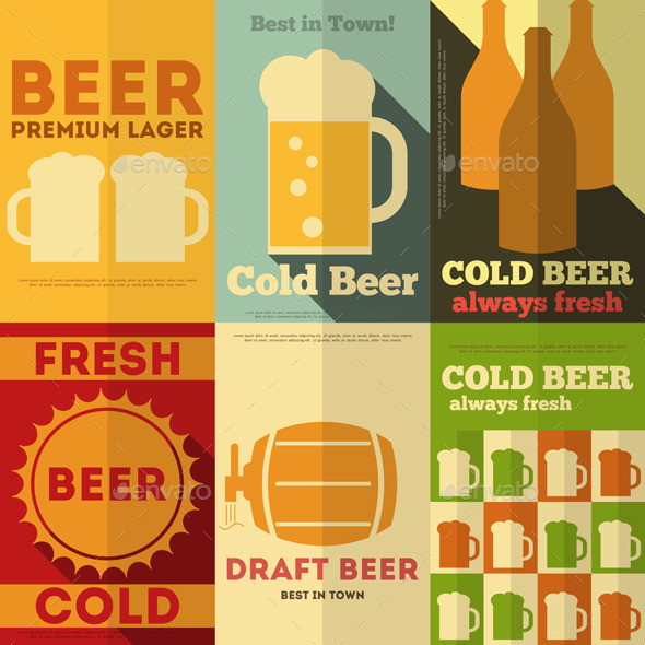 GraphicRiver Beer Posters 8842387