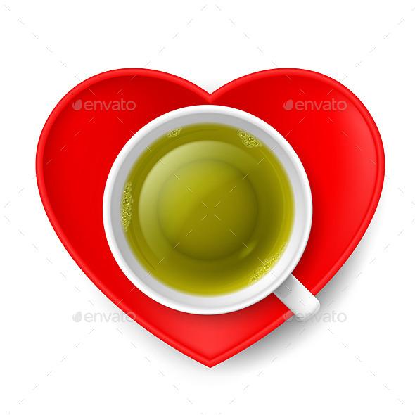 GraphicRiver Romantic Tea Drinking 8842539
