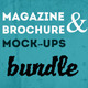 Brochure / Magazine Mock-Up Bundle - GraphicRiver Item for Sale