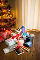 Christmas tree with gifts - PhotoDune Item for Sale