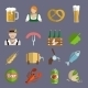 Beer Icons Set Flat - GraphicRiver Item for Sale