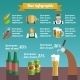 Beer Infographic Set - GraphicRiver Item for Sale