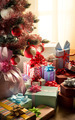 Traditional christmas tree with gifts - PhotoDune Item for Sale