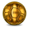 Golden football ball - PhotoDune Item for Sale