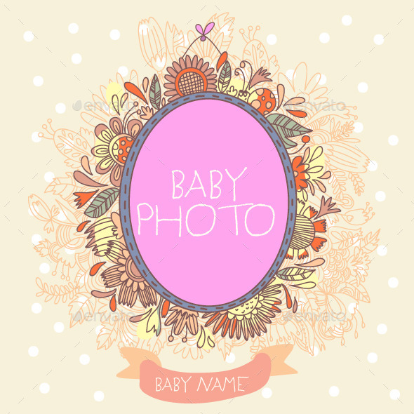 GraphicRiver Baby Arrival Card 8843114