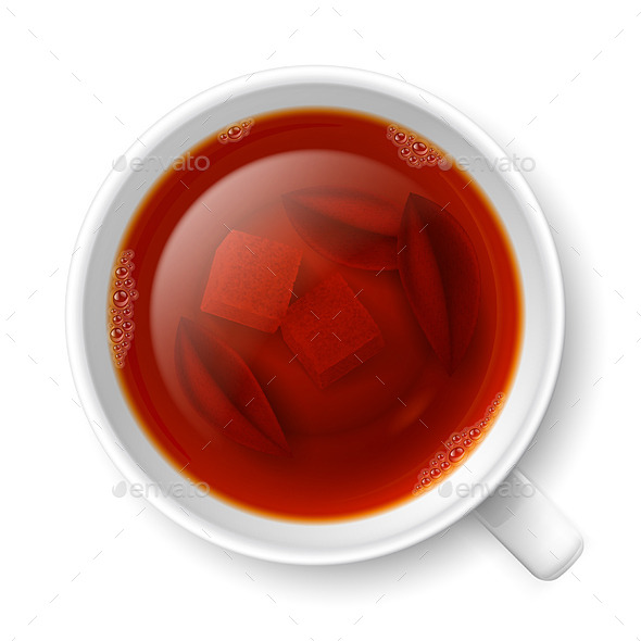 GraphicRiver Cup of Black Tea 8843200