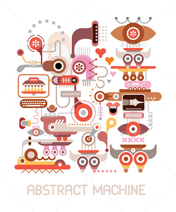 GraphicRiver Abstract Machine 8843281