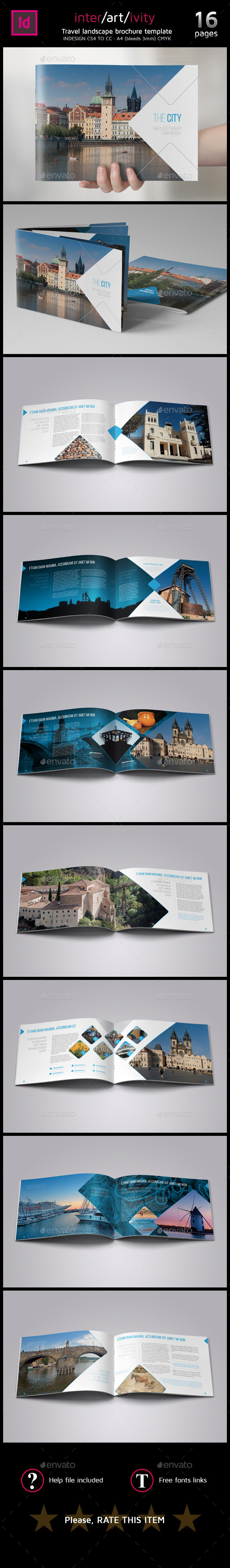 GraphicRiver Travel City guide brochure 8843333