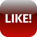 red like icon or button - PhotoDune Item for Sale