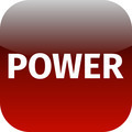 text power red icon - PhotoDune Item for Sale
