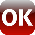red icon OK for app - PhotoDune Item for Sale