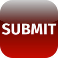 red text submit icon for app - PhotoDune Item for Sale