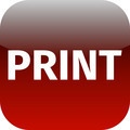 print red icon for app - PhotoDune Item for Sale