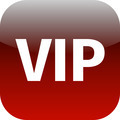 VIP red icon - for web app - PhotoDune Item for Sale