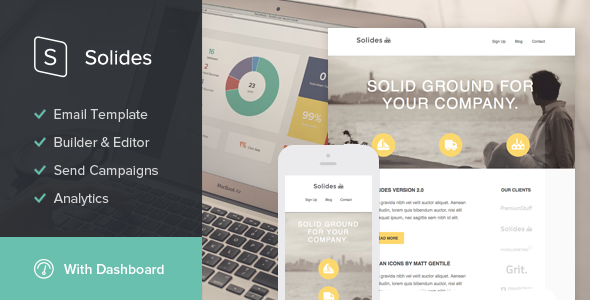 Solides - StampReady Email Template