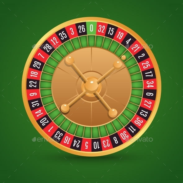 GraphicRiver Realistic Roulette Wheel 8843481