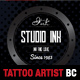Tattoo Artist Business Card Template - GraphicRiver Item for Sale