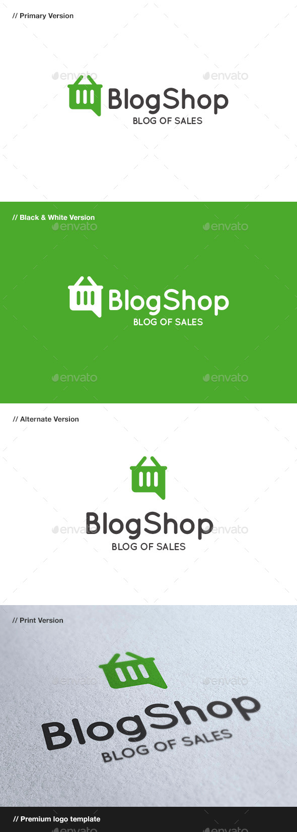 GraphicRiver Blog Shop 8843969