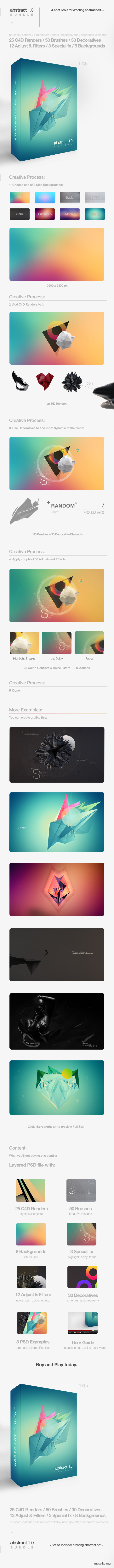 GraphicRiver Abstract 1.0 Bundle 8844011