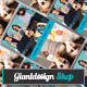 Photography Grid - Business Card - GraphicRiver Item for Sale