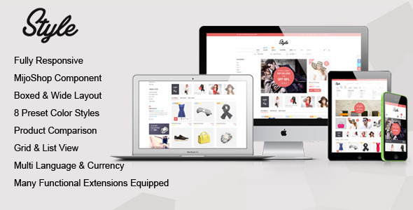 ThemeForest Style Responsive Multipurpose MijoShop Template 8846492