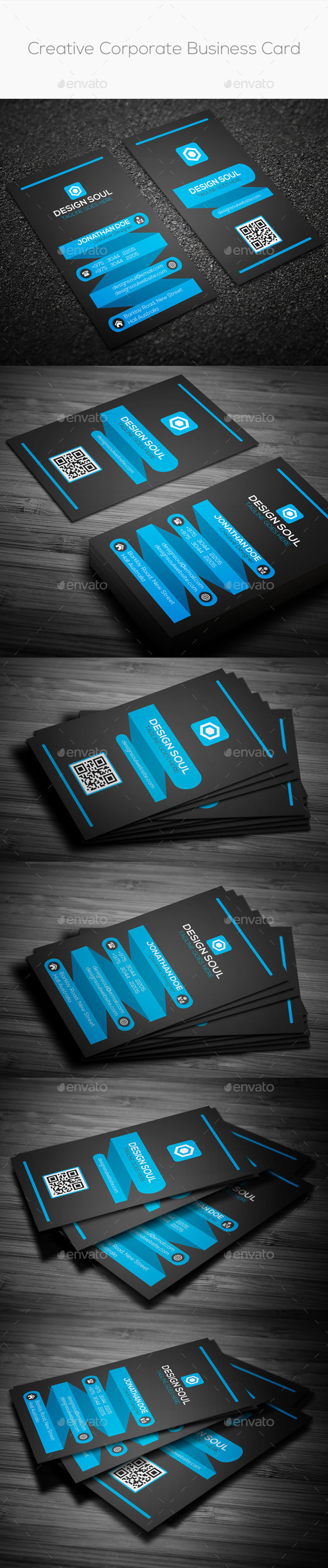 GraphicRiver Creative Corporate Business Card 8846569