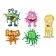 Cartoon Monsters Set - GraphicRiver Item for Sale