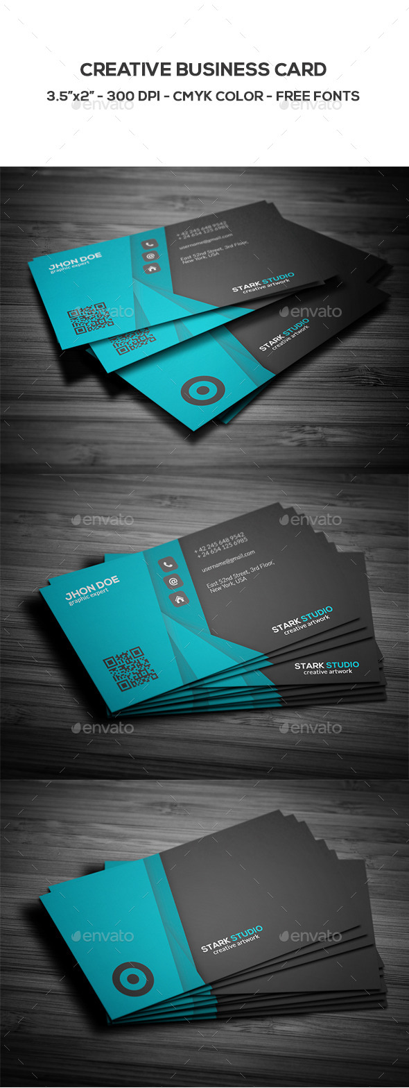 GraphicRiver Creative Business Card 8846834
