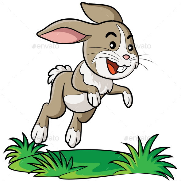 GraphicRiver Rabbit Cartoon 8847106