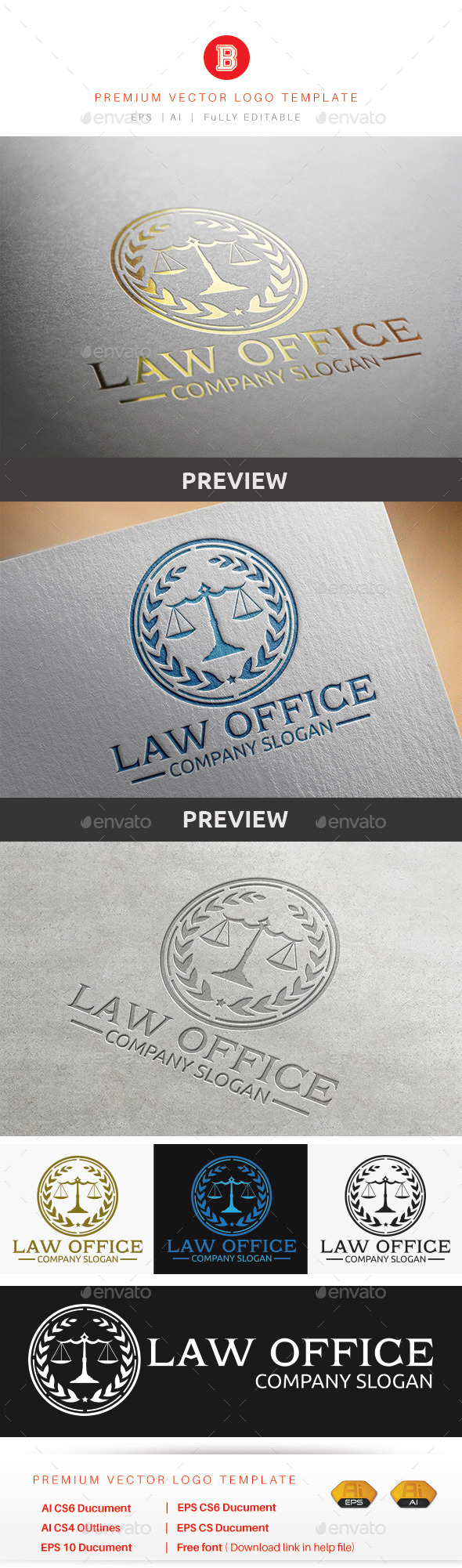 GraphicRiver Law Office 8847227