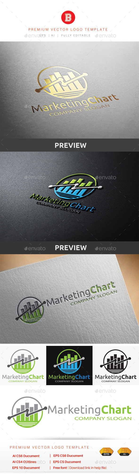 GraphicRiver Marketing Chart 8847240