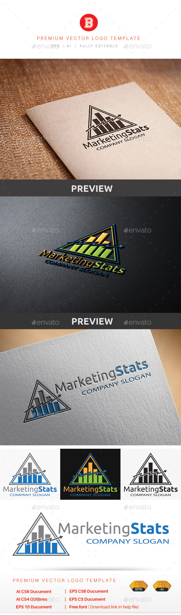 GraphicRiver Marketing Stats 8847247