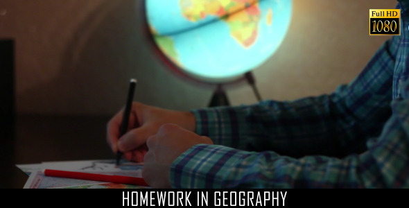 Homework In Geography 3