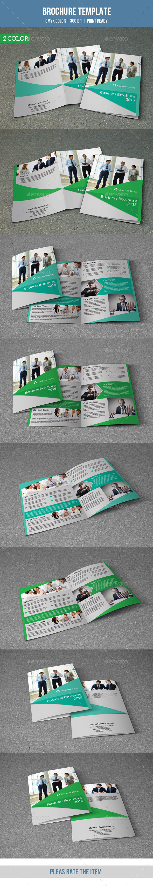 GraphicRiver Bifold Business Brochure-V129 8847358