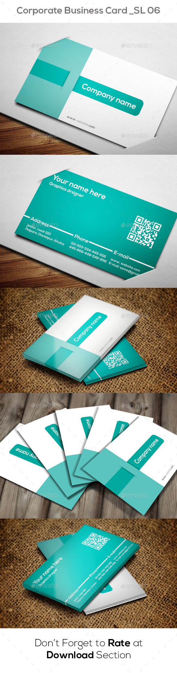 Creative Business Card SL 06