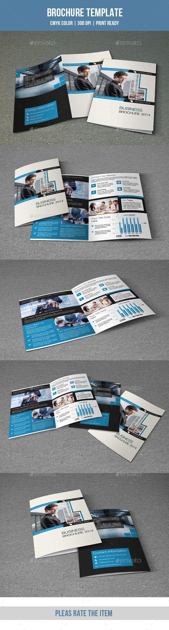 GraphicRiver Bifold Corporate Brochure-V131 8847594