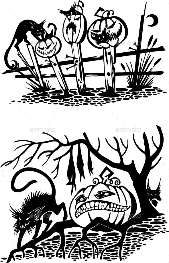 GraphicRiver Happy Halloween 8847606