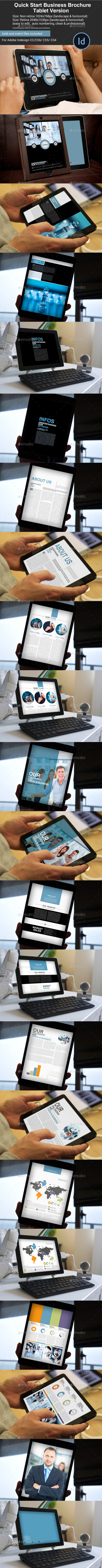 Quick Start Business Brochure Tablet Version