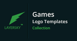 Games Logo Templates collection
