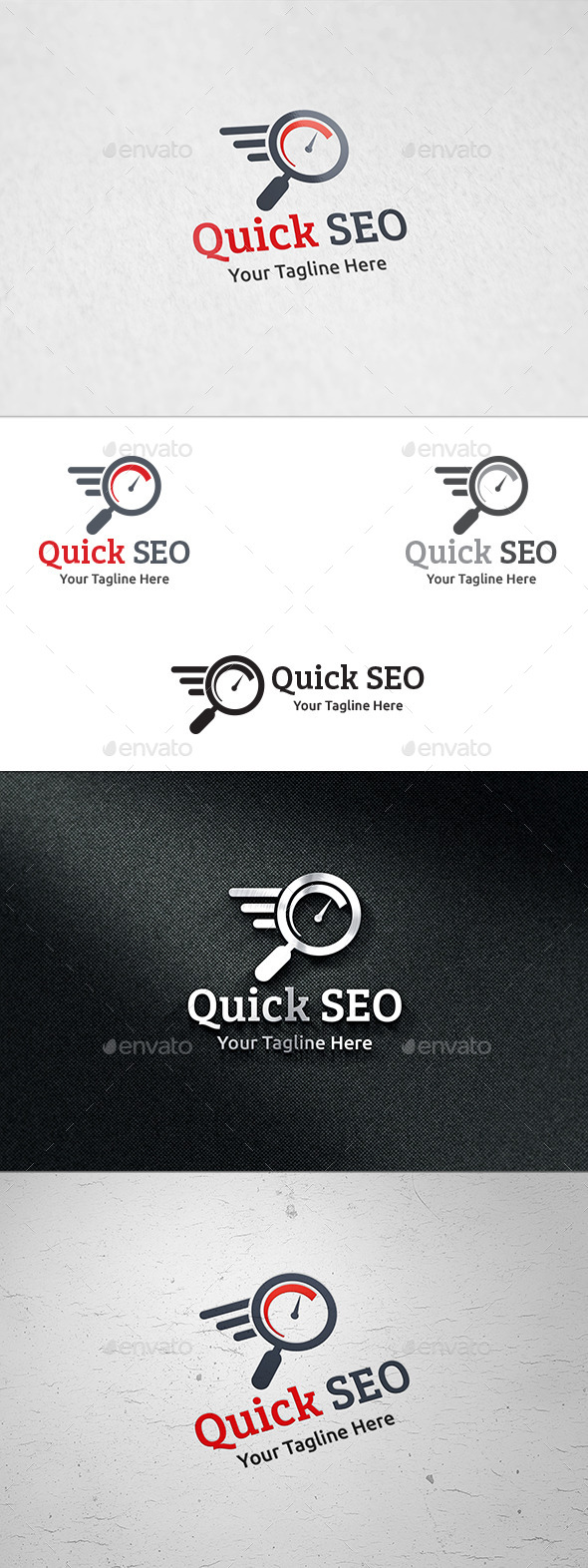 GraphicRiver Quick SEO Logo Template 8847696