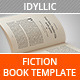Idyllic - Book Template - GraphicRiver Item for Sale