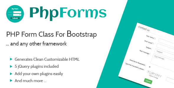 CodeCanyon PHP Form Class For Bootstrap 8790160