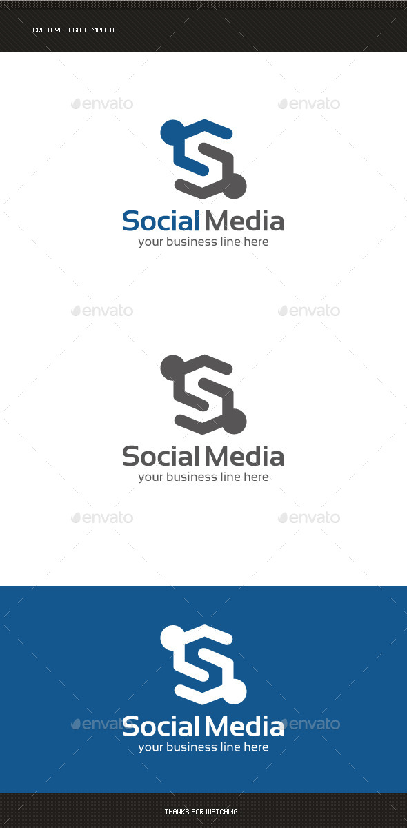 GraphicRiver Social Media Logo Template 8847790