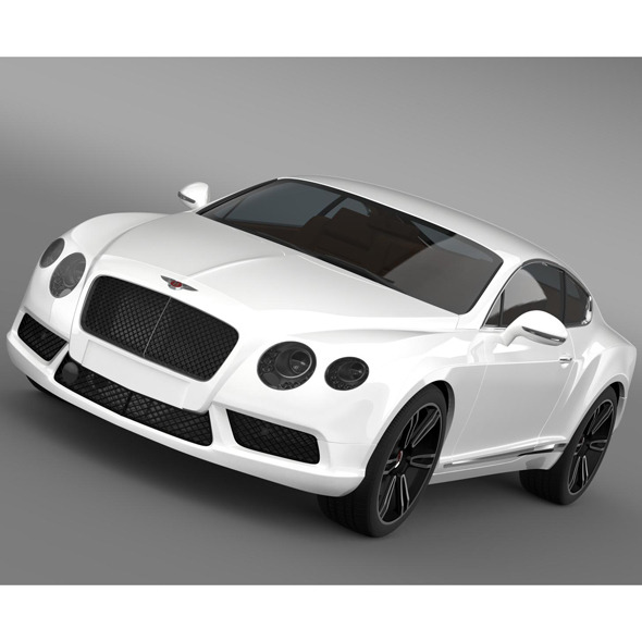 Bentley Continental GT V8 2013 - 3DOcean Item for Sale