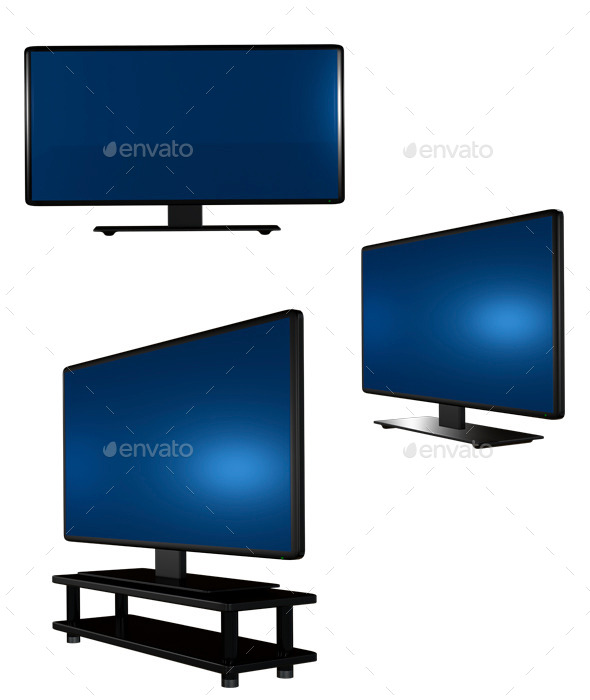 GraphicRiver Television Set 8848300