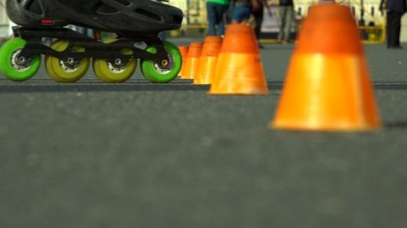 Skating on Roller Skates 3