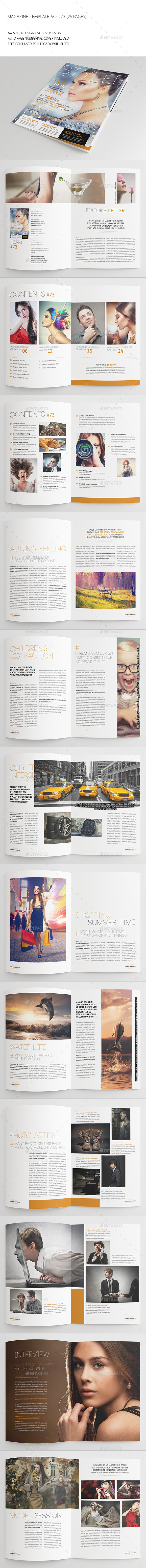 GraphicRiver 25 Pages Universal Magazine Vol73 8848587