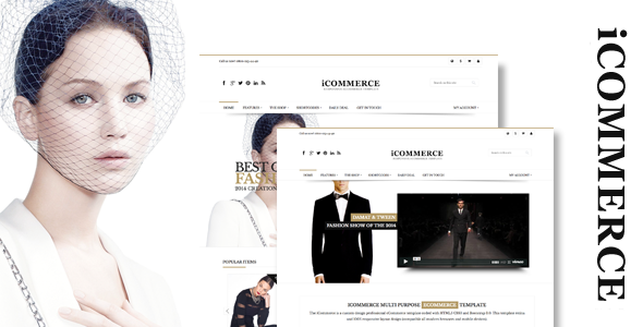 ThemeForest iCommerce Responsive Prestashop Theme 8848600