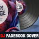 Dj and Musician Release Facebook Cover Template - GraphicRiver Item for Sale