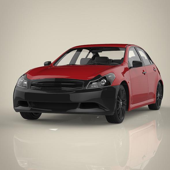 3DOcean estate car 8848615